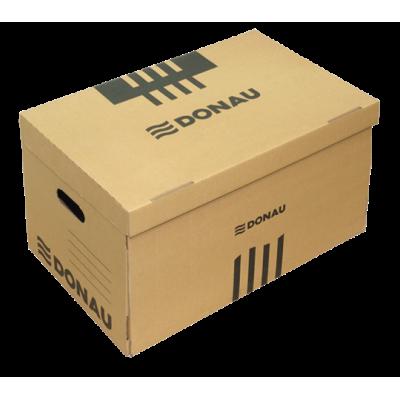 Короб для архивных боксов с накидной крышкой, DONAU, крафт (7666301PL-02)