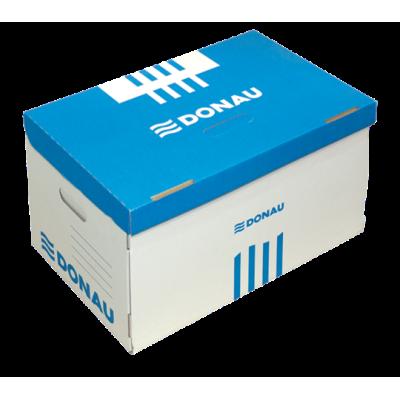 Короб для архивных боксов с накидной крышкой, DONAU, синий (7666301PL-10)