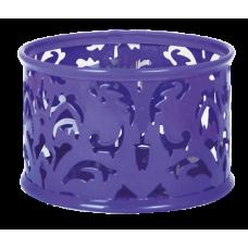 Подставка для скрепок Barocco 85х53мм металл фиолетовый