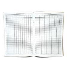 Журнал-пустографка, офсет, 50 листов, А4, горизонтальный