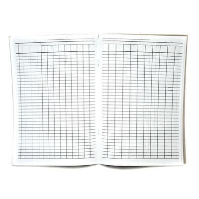 Журнал-пустографка, офсет, 50 листов, А4, горизонтальный (41699)