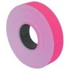 Этикетки ценники 16х23мм 700 шт/рул. розовый