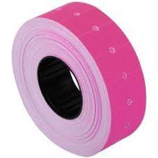 Этикетки ценники 21х12мм 1000 шт/рул. розовый