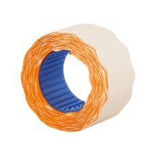 Этикетки ценники фигурные 26х12мм 500 шт/рул. оранжевый