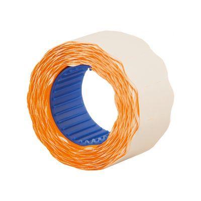 Этикетки ценники фигурные 26х12мм 500 шт/рул. оранжевый (E21304-06)