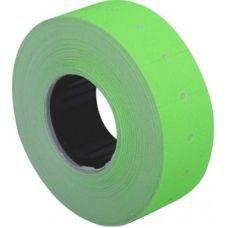 Этикетки ценники 21х12мм 1000 шт/рул. Зеленый