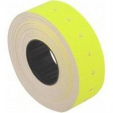 Этикетки ценники 21х12мм 1000 шт/рул. Желтый