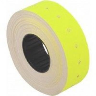 Этикетки ценники 21х12мм 1000 шт/рул. Желтый (E21301-05)