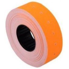 Этикетки ценники 21х12мм 1000 шт/рул. Оранжевый
