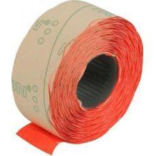 Этикетки ценники фигурные 22х12мм 1000 шт/рул. красный (E21303-03)