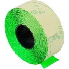 Этикетки ценники фигурные 22х12мм 1000 шт/рул. зеленый
