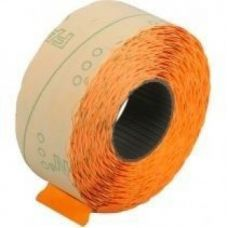 Этикетки ценники фигурные 22х12мм 1000 шт/рул. оранжевый