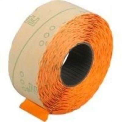 Этикетки ценники фигурные 22х12мм 1000 шт/рул. оранжевый (E21303-06)