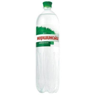 Вода минеральная Моршинская слабогазированная 1,5 л (36629)