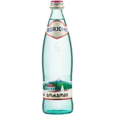 Вода минеральная Borjomi евро стекло, 033л (1008)