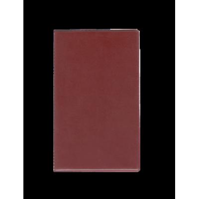 Папка для счета официанта, винил, бордовый (0300-0028-10)