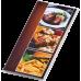 Папка для счета официанта CAFE, PVC, прозрачная (0300-0081-99)