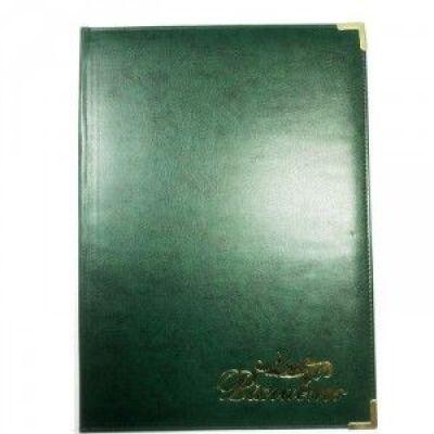 Папка поздравительная Miradur, зеленая (ППВ-5-4-M/В-0303)