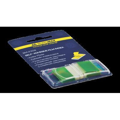 Закладки пластиковые POP-UP NEON, 45x25мм, 50л., зеленый (BM.2309-04)