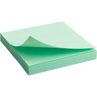 Блок бумаги с клейким слоем 75x75мм 100л  зеленый (2314-02-A)