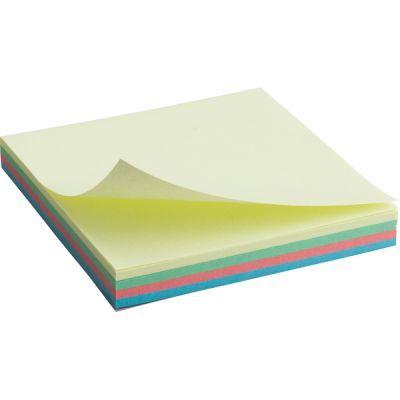 Блок бумаги с клейким слоем 75x75мм 100л  пастель микс (2325-01-A)