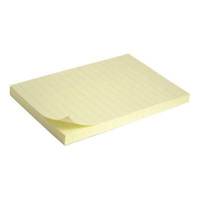 Блок бумаги с клейким слоем 100x150мм 100л линия (2330-01-A)