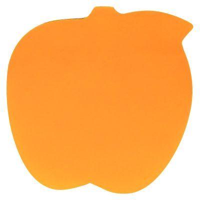 Блок бумаги с клейким слоем яблоко 70х70мм 50л (2443-04-A)