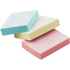 Блок бумаги с клейким слоем 38х51мм 100л. ассорти