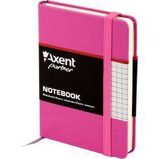 Книга записная Partner 95х140 96л клетка пурпурный