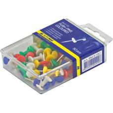 Кнопки-гвоздики 50шт пластиковый контейнер