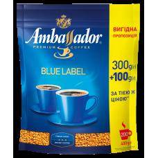 Кофе растворимый Ambassador Blue Label, пакет 400г