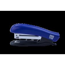 Степлер пластик №10 12л ассорти 90х20х40 мм, синий BUROMAX