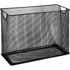Короб для подвесных файлов, металлический, черный