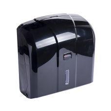 Пластиковый держатель бумажных полотенец V-сложения, черный