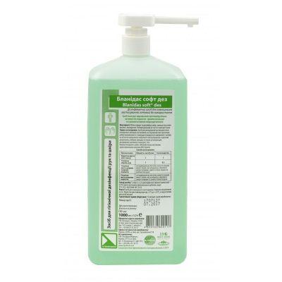 Медицинское жидкое мыло дезинфицирующее Бланидас СОФТ ДЕЗ 1 литр
