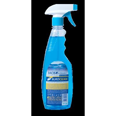 Средство для мытья стекол с распылителем Buroclean 500 мл морская свежесть