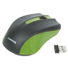 Мышь компьютерная OMEGA WIRELESS OM-419 GREEN