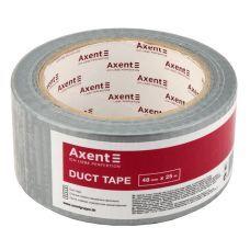 Лента клейкая упаковочная армированная Axent 3048-А, 48 мм х 25 м, 150 мкм, серебрянная