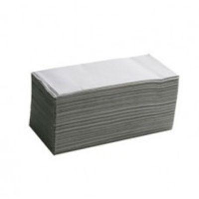 Полотенца бумажные макулатурные V-образные 160шт. серые (10100101)