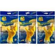 Перчатки резиновые универсальные для мытья посуды S, Фрекен Бок