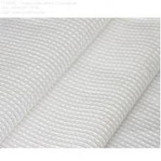 Полотенце вафельное 45х75см белый