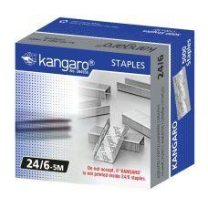 Скобы №24/6 5000шт.  Kangaro