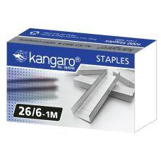 Скобы №26/6 1000шт.  Kangaro