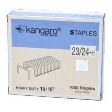 Скобы 23/24 1000шт.  Kangaro