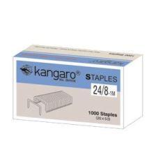 Скобы №24/8 1000шт.  Kangaro