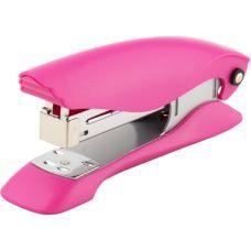 Степлер Ultra пластик №24/6 25л розовый